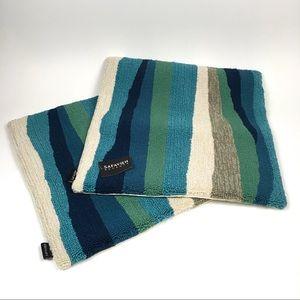 """Safavieh Ocean Abstract 20"""" Pillows Set/2 Outdoor"""